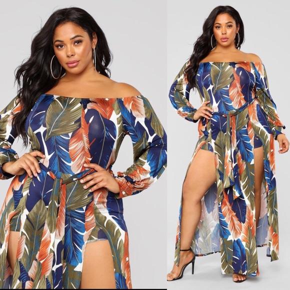 be830579c8db Fashion Nova Dresses   Skirts - Fashion Nova Night Moves Maxi Dress✨Size ...